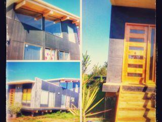 Casa en Algarrobo Arquitectura Amanda Perez Feliú Passive house Engineered Wood Black