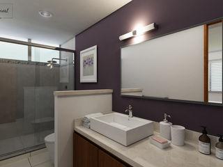 Citlali Villarreal Interiorismo & Diseño Modern bathroom