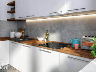 One Line Design Kitchen