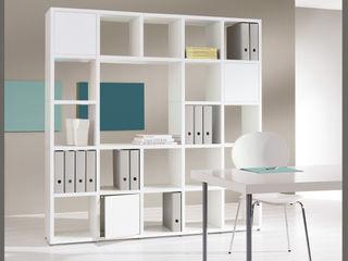 Bookshelves Regalraum UK Офіс Білий