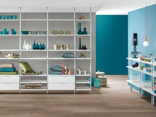 Room Divider Shelves Regalraum UK Вітальня