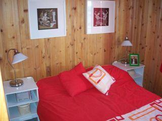 RUSTICASA Rustic style bedroom Wood Wood effect
