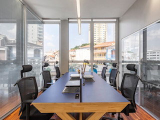 Concept Engenharia + Design Estudios y oficinas modernos Madera Azul