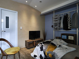 第宅空間設計 Dormitorios de estilo moderno