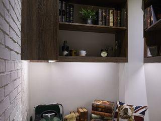 第宅空間設計 Oficinas de estilo moderno