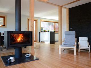 RUSTICASA Salon moderne Bois Effet bois