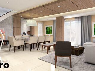 Kuro Design Studio Modern Living Room