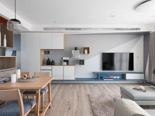 寓子設計 İskandinav Oturma Odası