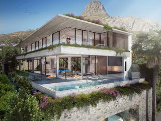 Kunst Architecture & Interiors Infinity pool Beton Wit