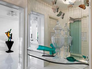 andretchelistcheffarchitects Pasillos, vestíbulos y escaleras de estilo moderno