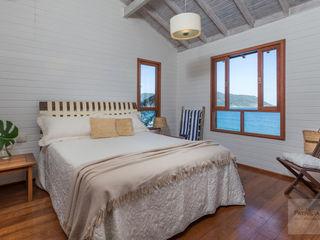 Quarto Casa de Praia - Por Patrícia Nobre Patrícia Nobre - Arquitetura de Interiores Quartos minimalistas