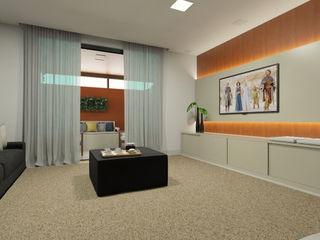 Bruna Rodrigues Designer de Interiores Salas de estilo minimalista Tablero DM