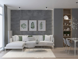 SIMPLIKA Salones de estilo moderno