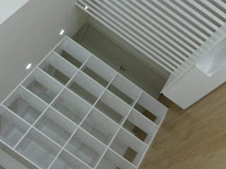 Davide Domingues Arquitecto Living room MDF White