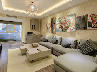 Hany Saad Innovations Salones de estilo moderno