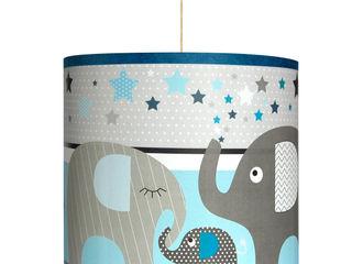 """Gamme de luminaires """"Le défilé des éléphants"""" NOTHING TOULOUSE Chambre d'enfantsEclairage"""