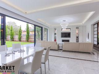 Teddington Extension And Refurbishment The Market Design & Build Modern living room