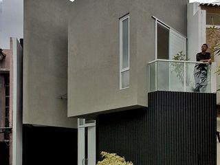 Heavy Rotation House Parametr Architecture Rumah tinggal Batu Grey