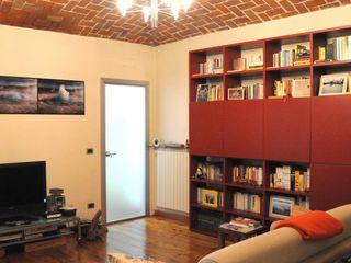 ArchitetturaTerapia® 现代客厅設計點子、靈感 & 圖片