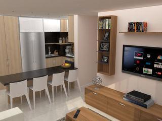 TRIBU ESTUDIO CREATIVO Modern style kitchen