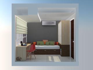 TRIBU ESTUDIO CREATIVO Modern style bedroom