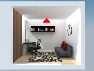 TRIBU ESTUDIO CREATIVO Modern style media rooms