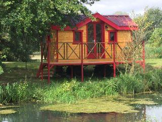 Jardin boheme Rustikale Hotels