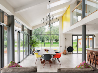 Rose Project Dan Wray Photography Modern dining room