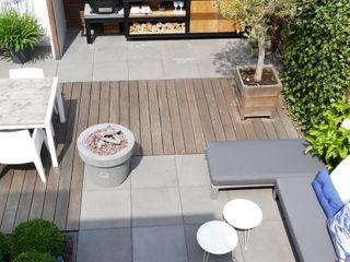 Achtertuin Biesot Moderne tuinen