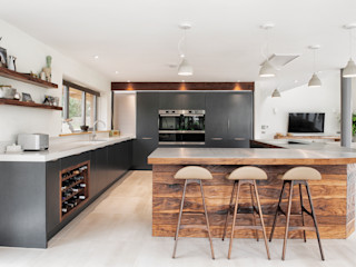 Rose Project Dan Wray Photography Built-in kitchens