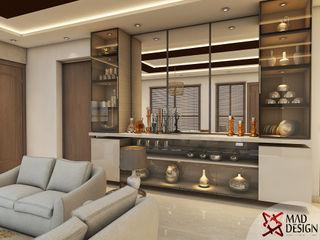LIVING ROOM - VIEW 1 homify Modern Living Room White