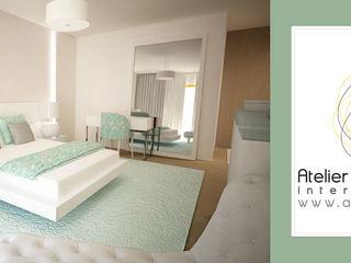 Andreia Louraço - Designer de Interiores (Email: andreialouraco@gmail.com) Cuartos de estilo moderno Blanco