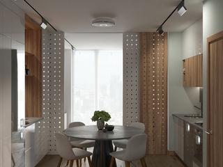 Wide Design Group 北欧デザインの キッチン