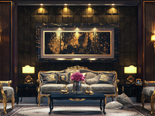Vanilla Studio Classic style living room