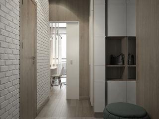 Tatiana Sukhova Modern Corridor, Hallway and Staircase