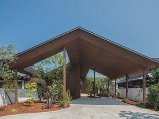 武藤圭太郎建築設計事務所 Maisons modernes Bois Marron