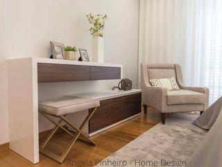 Ângela Pinheiro Home Design Kamar Tidur Gaya Eklektik