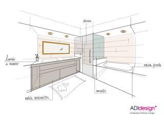 ADIdesign* studio 욕실욕조 및 샤워 시설