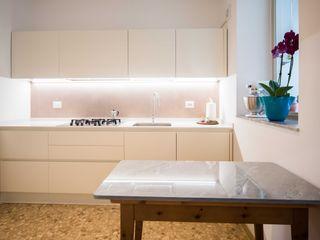 Cucina PADIGLIONE B Cucina attrezzata MDF Bianco
