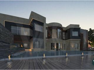 Villa exterior design VAVarchitecture HouseholdHomewares