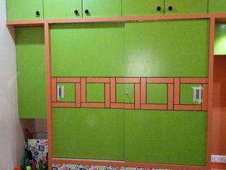 AOM Interior Modern Bedroom Plywood Green