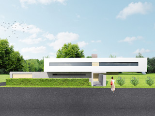 Archstudio Architecten | Villa's en interieur Biệt thự White