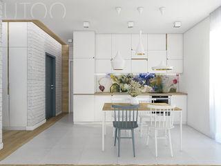 UTOO-Pracownia Architektury Wnętrz i Krajobrazu Modern style kitchen