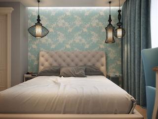 Small traditional apartment EVGENY BELYAEV DESIGN Chambre classique