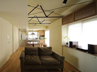 藤原・室 建築設計事務所 Moderne Wohnzimmer