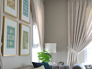 Alma Home Harf Noon Design Studio Eklektik Oturma Odası