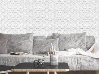 Housed - Wallpapers Muren & vloerenBehang Papier Grijs