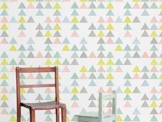 Housed - Wallpapers Muren & vloerenBehang Papier Wit