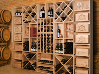 Weinregal-Profi Classic style wine cellar Wood