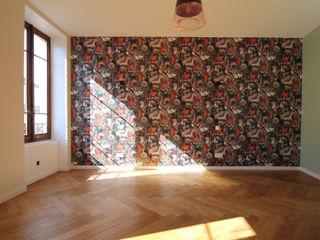 Rénovation complète d'un appartement Haussmannien Deco-Daix Chambre d'adolescent